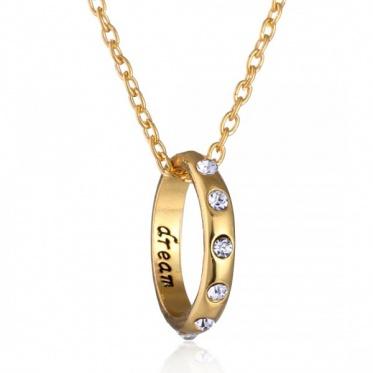 时尚简约精美礼品 合金戒指项链 情侣戒指厂家大促销