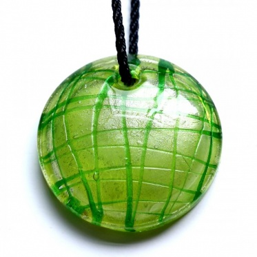 Hot Fashion Woman Man Jewelry Candy Color Round Colored Glaze Pendant Necklace