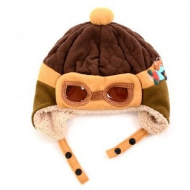 Cute Lovely Nature The pilot Hat Children Outdoor Baby's Love Warm Winter Hat
