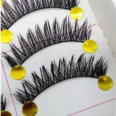 10 Pairs New Makeup Handmade Soft Fashion Long False Eyelashes Eye Lashes