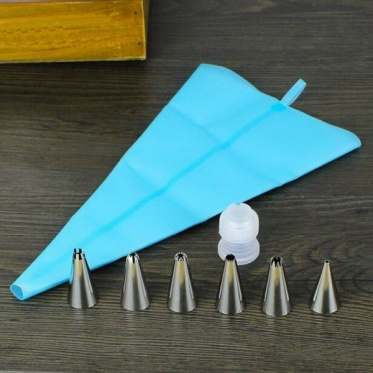 30/34/40cm Silicone Reusable Icing Piping Cream Pastry Bag Cake Decorating Tool