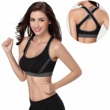 New Sports Bra Woman Yoga Underwear Cora Wireless Sommeil Bra Side Buckle M-XL