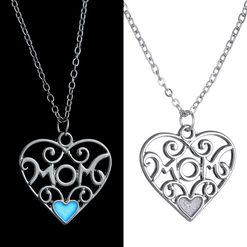 2015 Magical Charm Fairy Glow In The Dark Necklace Love Mother's Day Friend Gift
