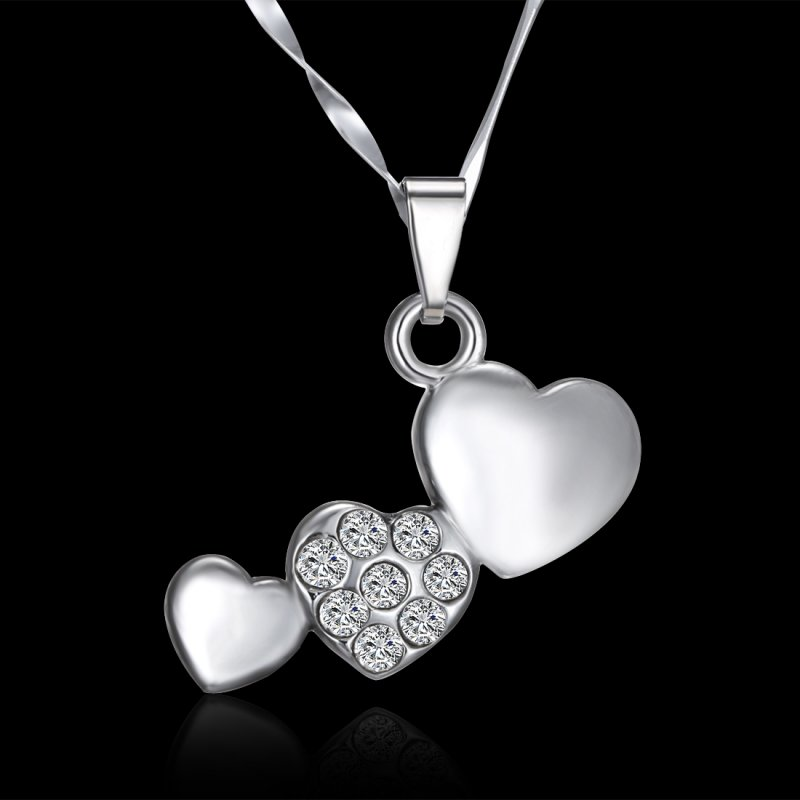 Special Gifts For Women Part - 40: Women-Girls-Special-Love-Gift-Shine-Crystal-Heart-