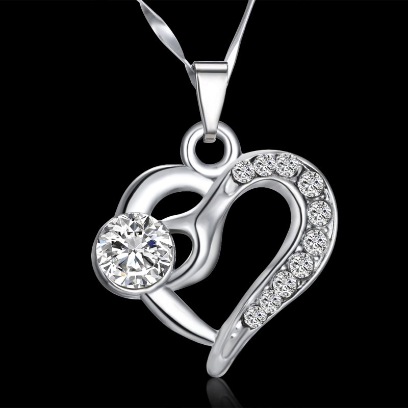 Special Gifts For Women Part - 26: Women-Girls-Special-Love-Gift-Shine-Crystal-Heart-