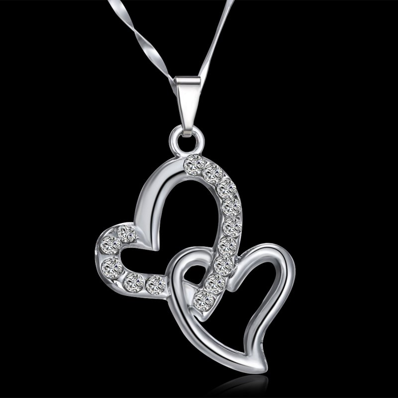 Special Gifts For Women Part - 37: Women-Girls-Special-Love-Gift-Shine-Crystal-Heart-