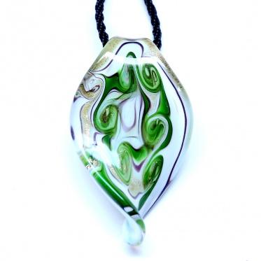 Hot Fashion Woman Man Jewelry Coloured Glaze Leaf Chain Pendant Necklace