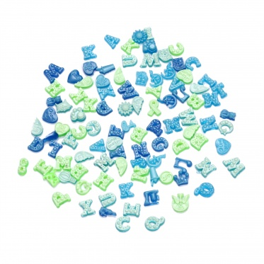 DIY 50pcs New Floating Glowing Charms For Glass Living Memory Locket Wholesale