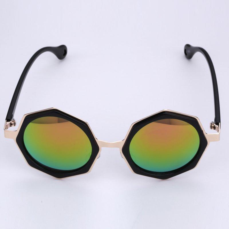 Fashion Womens Mens Polarized Aviator classic Shades Black Frame Sunglasses New