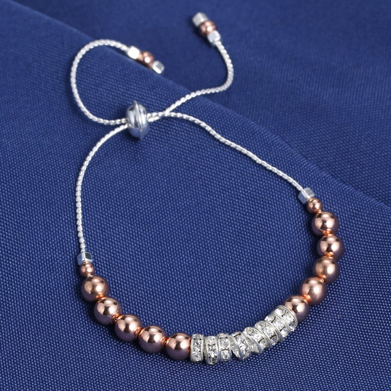 New Stretch Rondelle Crystal Spacer Beads Amazing Bracelet ...