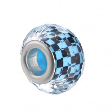 5pcs Wholesale Multicolor Glass Beads DIY Jewelry Accessories For Bracelet Fashion