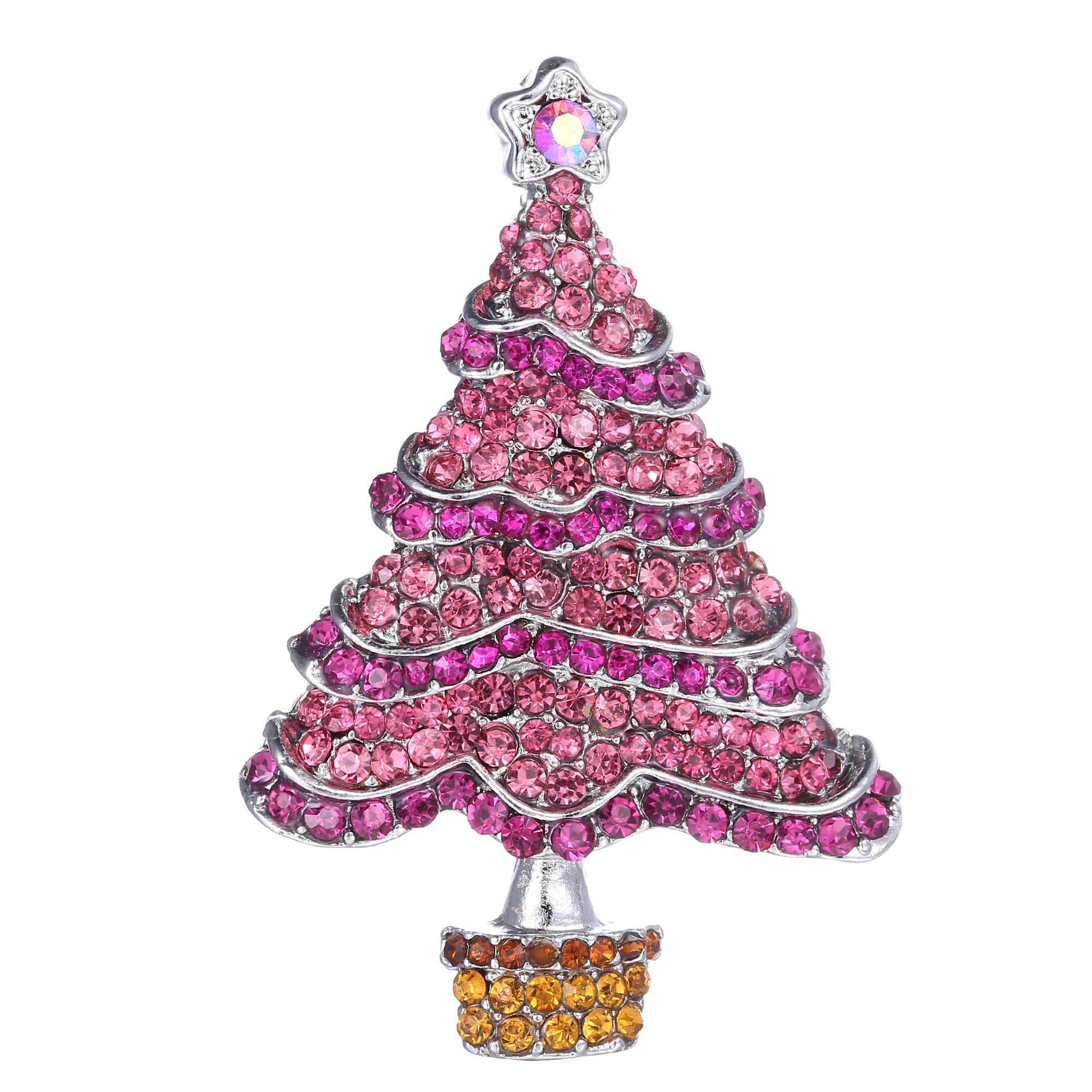 Trendy beauty tree brooch pin women unisex christmas gifts Trendy womens gifts 2015