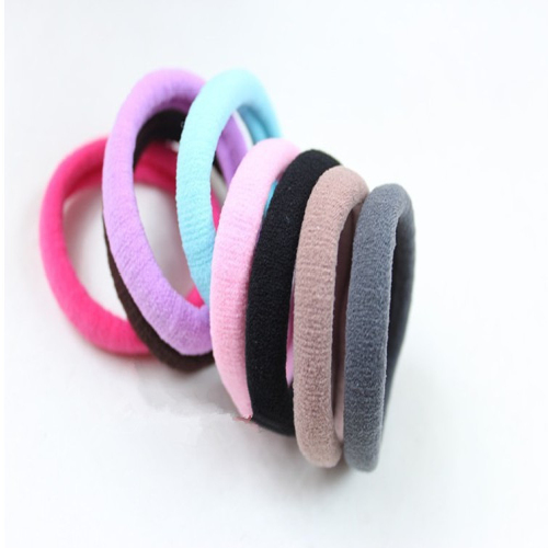 10 Pcs/Set Elastic Rope Ring Hairband Tie Women Girls Hair Band Ponytail Holder
