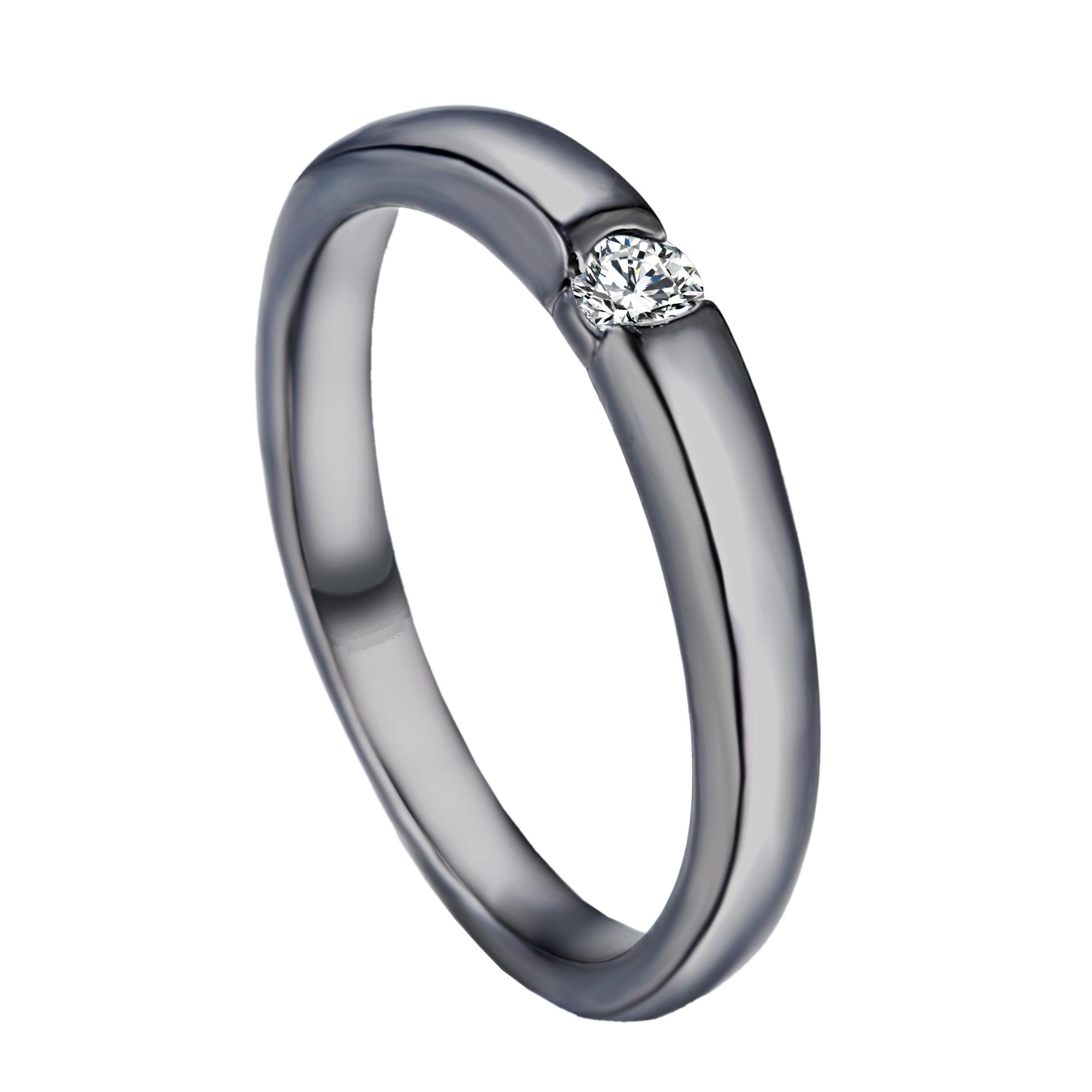 Fashion Women Wedding CZ Crystal Rhinestone Engagement Band Cut Ring Size 8 G