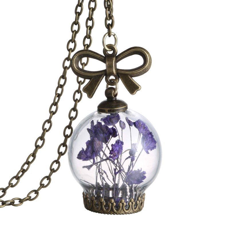 how to make jewelry from dried flowers