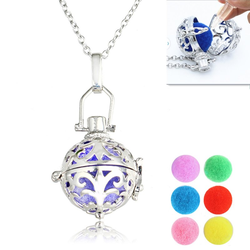 Locket pendant fragrance aromatherapy essential oil for How to make scented jewelry