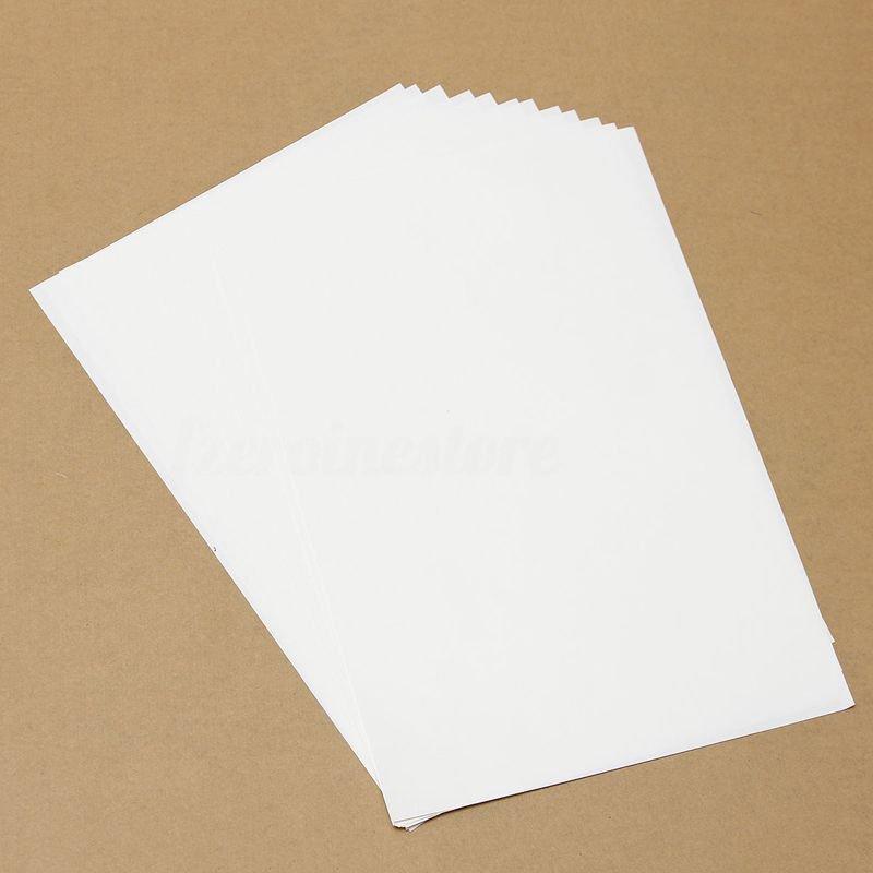 10pcs t shirt a4 transfer paper iron on heat press light for Iron on shirt paper
