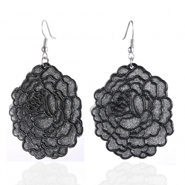New Design Personality Retro Exaggerated Patch Earrings Woman Lady Jewelry