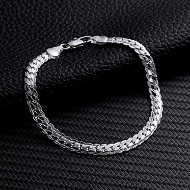 Selling fashionable elegant silver, Japan and 5 m sideways bracelet