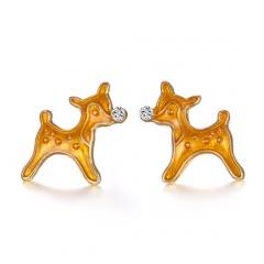 Wholesale  Christmas Jewelry Earrings Christmas deer