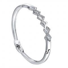 Rinhoo Bracelets Bangles Jewelry Lover Love Polished Cuff Bangle Bracelet Wrist Bracelet Jewelry for Men Women bangle4