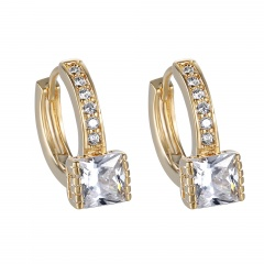 Fashion Crystal Ear Button Ring Earrings Jewelry Style-2