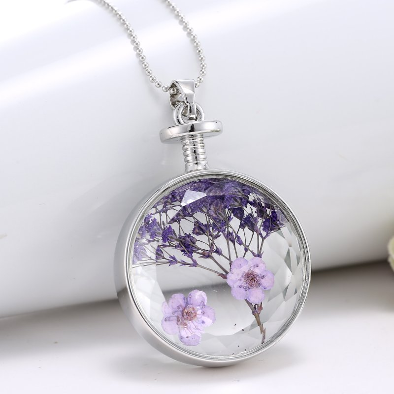product flower for image apollobox array necklace pressed pendant