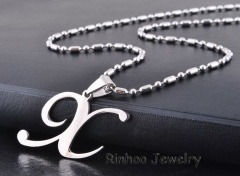Fashion Stainless Steel Silver Spider Pendant Necklace Fashion