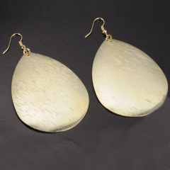 Fashion Gold Waterdrop Dangle Earring Jewelry gold