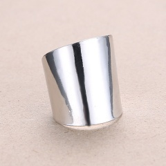 Fashion Gold Silver Iron Sheets Open Rings Simple Rings Jewelry Silver-Iron