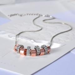 New Fashion Women Crystal Pendant Long Chain Necklace Fashion