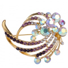 Wholesale Fashion Brooch Factory Price Colorful