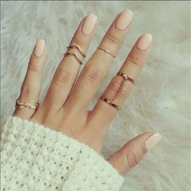 15 Pcs Vintage silver Midi Doigt Knuckle Rings Set Boho Femme Fashion Jewelry