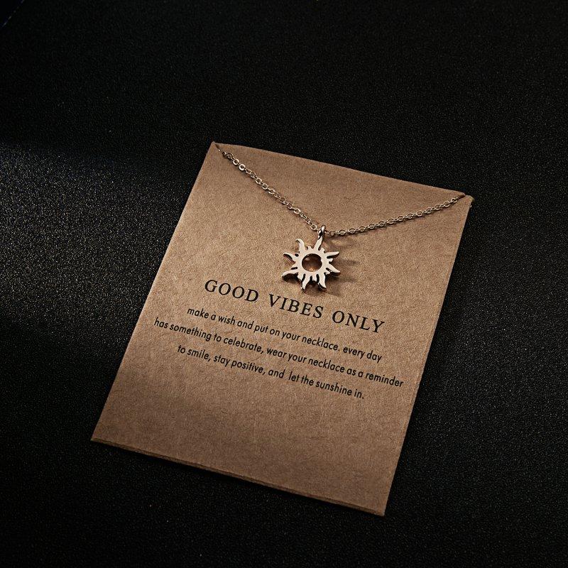 Fashion Retro Wing Sun Feather Round Choker Pendant Necklace Chain Women Jewelry