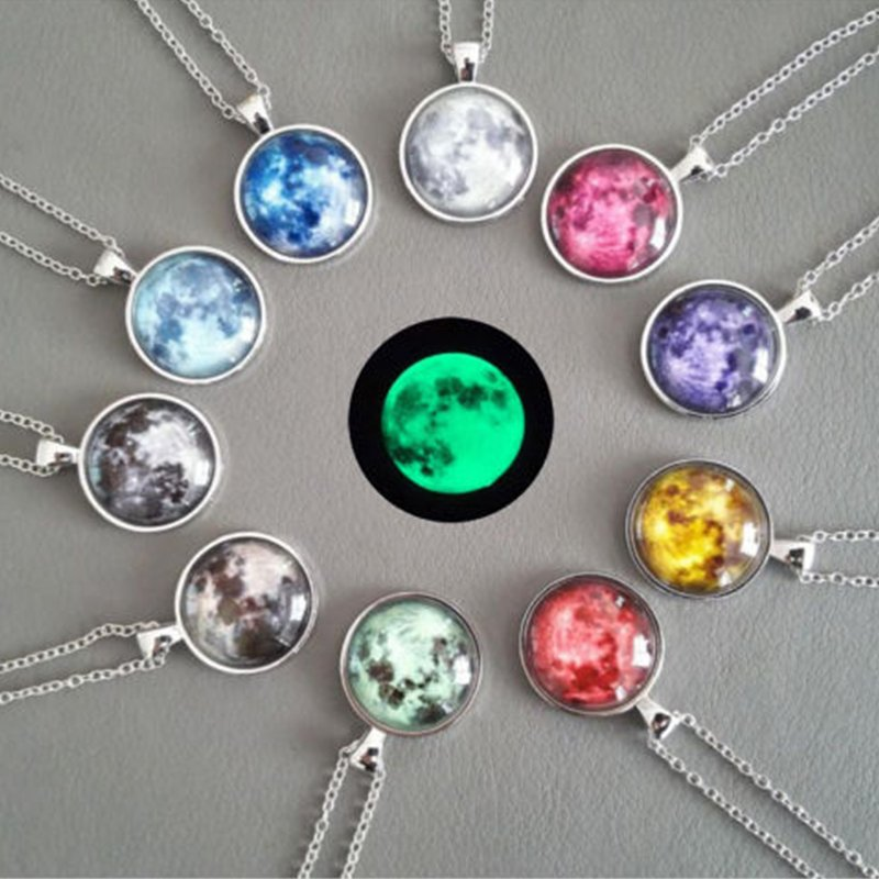 Christmas Fashion In The Dark Lights Glowing Pendants Necklace Jewelry Charm