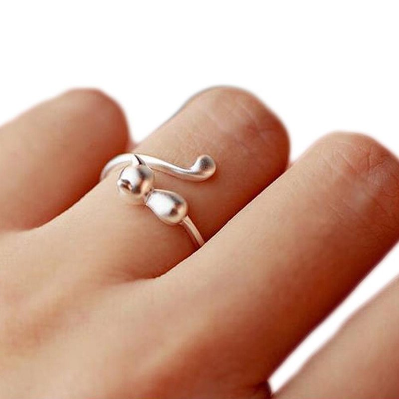 Trendy Women Floral Copper Ring Wedding Engagement Party Jewelry Ring Gift Jian