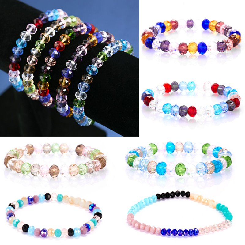 Fashion Jewelry Wholesale Multilayer Beaded Stretch Women Party Bracelet Bangle