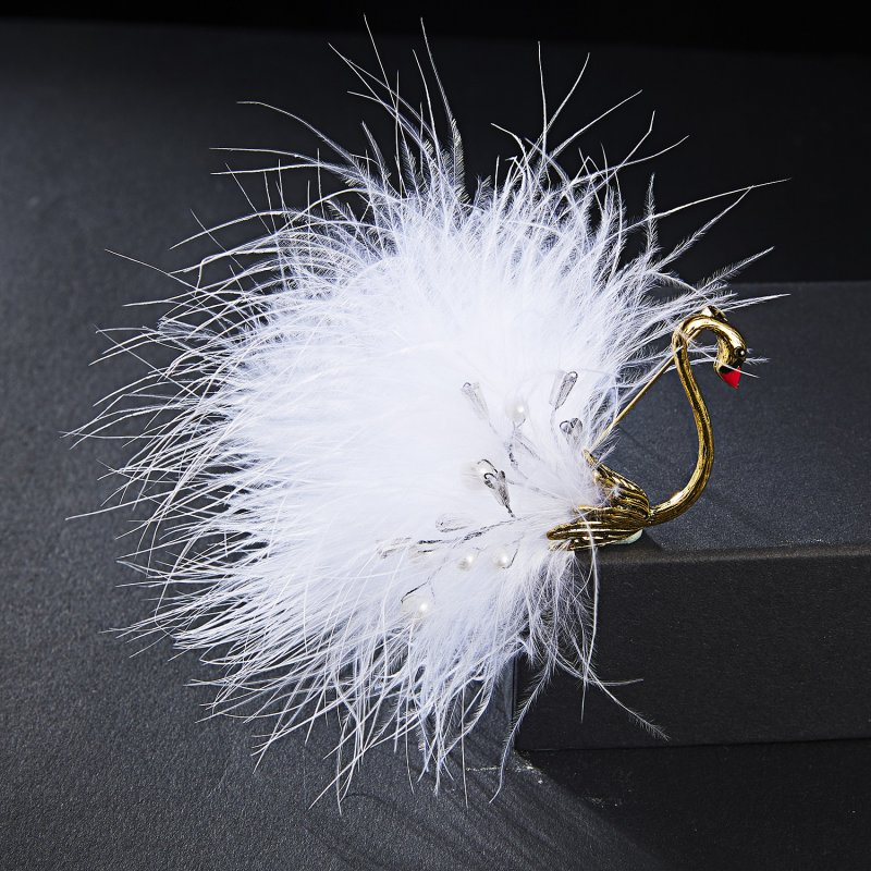 Gold Rhinestone Pearl Flower LOVE Brooch Pin Wedding Party Fashion Jewelry Gift